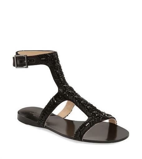 eb68e716ce85 Imagine by Vince Camuto Im-reid Black Semi Matte Satin Sandal Size 5m for  sale online
