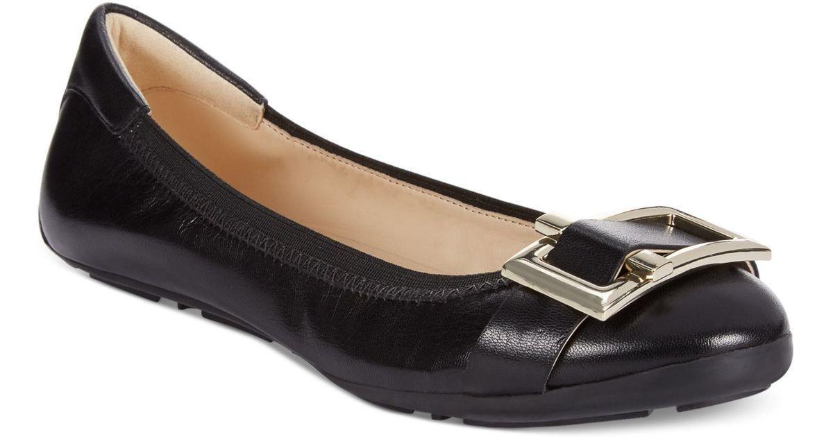 Nine West justinna Ballet Zapatos sin Taco Sin Sin Sin Talla 7.5 Negro Nuevo  grandes ofertas
