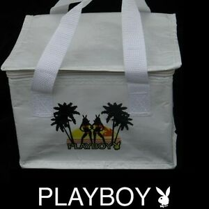 Playboy-Lunch-Bag-Beach-Bunny-Tote-Box-Insulated-Cooler-Licensed-Official-NOS