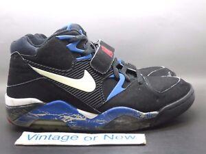 VTG Nike Air Force 180 Sport Royal Black White Red Charles Barkley 2005 sz 10