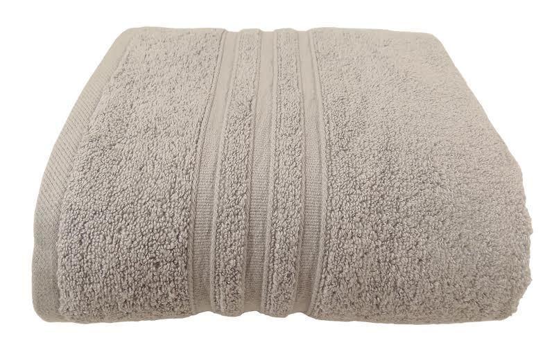 10 X Zero Twist Algodón baño Hotel Gris Plata 600 toallas baño Algodón de GSM 90 X 140CM 03c5d2
