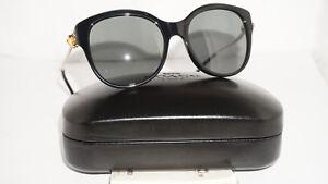 COACH-New-Sunglasses-Authentic-Black-Gold-Grey-HC8189-530887-55-135