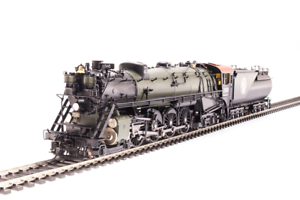 Broadway Limited 5646 Great Northern S-2 4-8-4, Paragon 3 Dc dcc, humo, latón, Ho