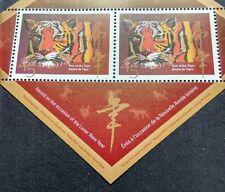 1998 Canada Zodiac Lunar New Year Tiger Souvenir Mini-Sheet Stamp Overprint Mint