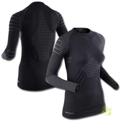 X-Bionic DaSie Skiunterhemd langarm Funktionsunterwäsche I020272 INVENT schwarz