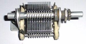 Condensateur-variable-150-pF-Steatite-US-NOS-NIB-3D9150V-14-Signal-Corps-de-1952