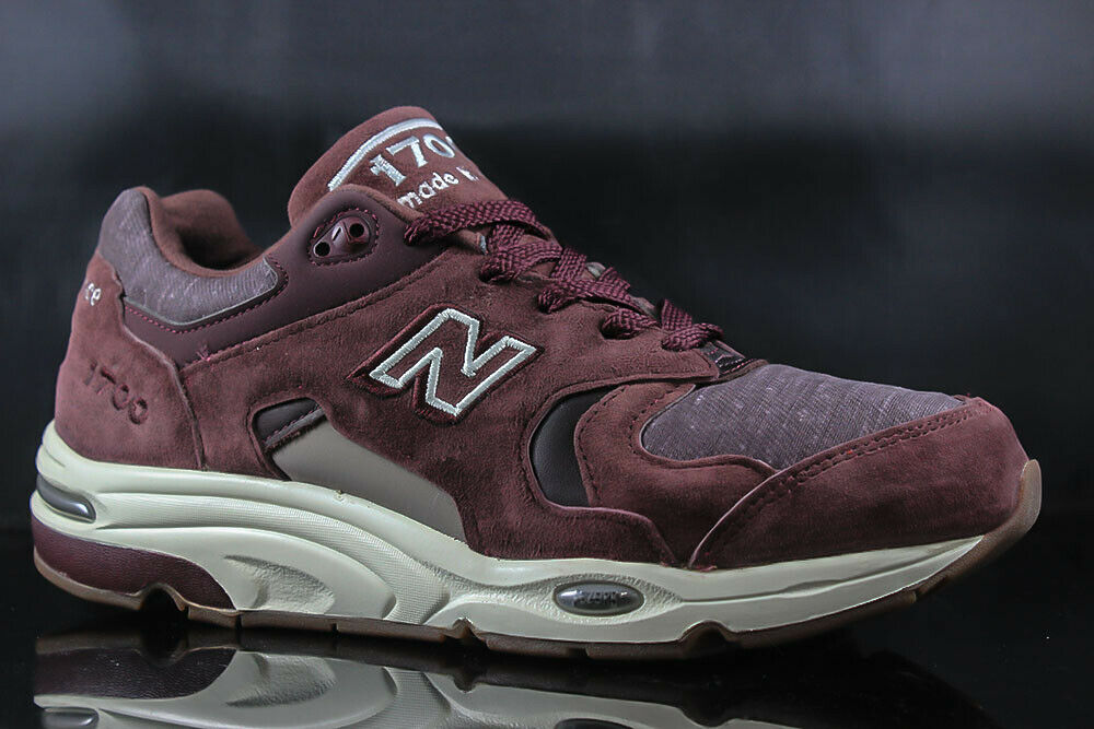 NEW BALANCE 1700 M1700DEA BURGUNDY WHITE SIZE  9