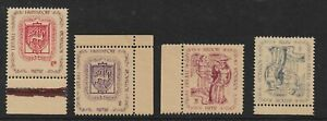 HASSENDORF 1946 DP CAMP LOCAL STAMPS,LITHUANIA,GERMANY,DISPLACED,LIETUVIU,NHM