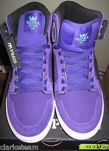 purple supra high tops