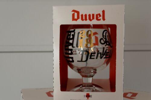 ♦BOX cadeau Verre Duvel Collector Fetes de Wallonie Duvel Glass beer Duvel glas♦