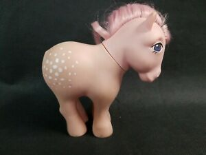 Vintage My Little Pony G1 Cotton Candy Concave Feet Missing Tail See Pictures