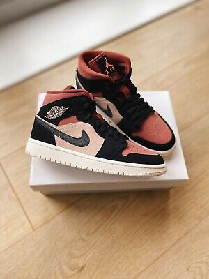 Nike Air Jordan 1 Mid Canyon Rust UK 5.5/US 8 *IN HAND READY TO ...