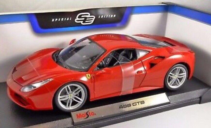 488 GTB Special Edition Maisto 1 18 Diecast