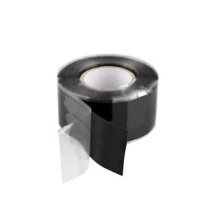 Rubber-Silicone-Repairing-Water-proof-Bonding-Tape-Rescue-Self-Fusing-Wire-Black