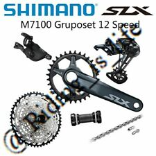 Shimano SLX M7100 1x12 w// MT610 crankset//Sunrace MZ800 11//51T Groupset New