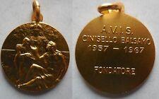 medaglia fondatore AVIS donatori di sangue cinisello balsamo 1967
