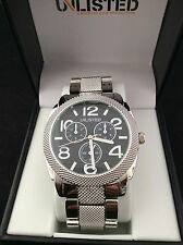 Kenneth Cole Unlisted Mens Stainless Steel Watch UL 1287
