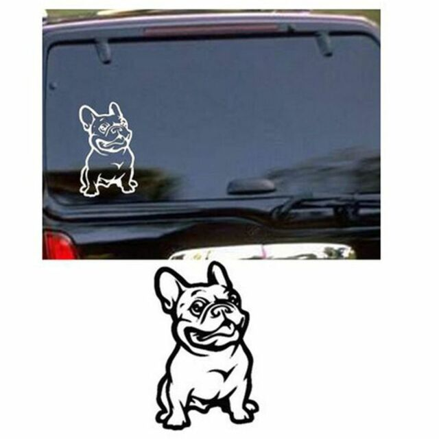 3D Strong French Bulldog Dog Car Sticker Adhesive Stickers Vinyl Cars Decal n