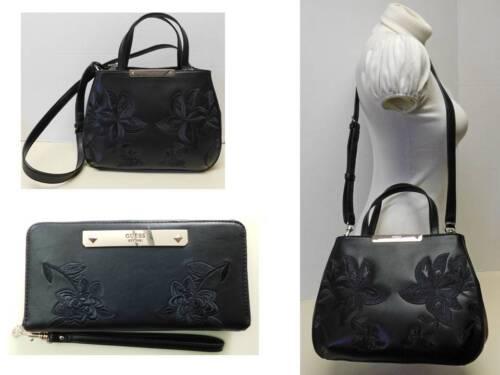 Handbag Bag Crossbody Shoulder Guess Embroidered wallet Signature