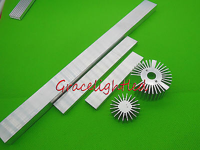 100 150 300mm  High Power LED aluminum Heatsink for 1w 3w 5w 10W 10*3W led light