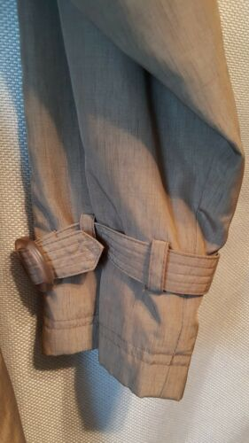 Utex Trench Coat Dress Womens Long Tan Sz 10 Double Breasted Belted
