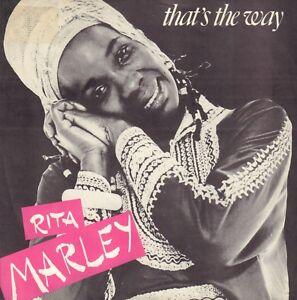 RITA-MARLEY-That-039-s-The-Way-1982-REGGAE-7-034-EUROPE