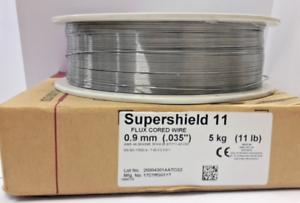 Hyundai Supershield 11 Stahl Fülldraht gaslos selbstschützend Spule 5kg