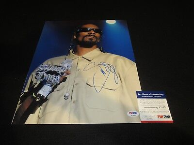 Autographs-original Rock & Pop Generous Snoop Dogg Signed 11x14 Photo Psa/dna West Coast Rap Legend Dre Rare 8