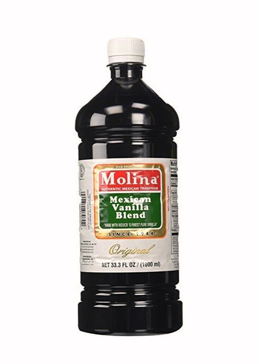 Details about Mexican Vanilla 33 3 Oz 1L Molina Pure Flavor Cooking Baking  Cake Cook Coffee