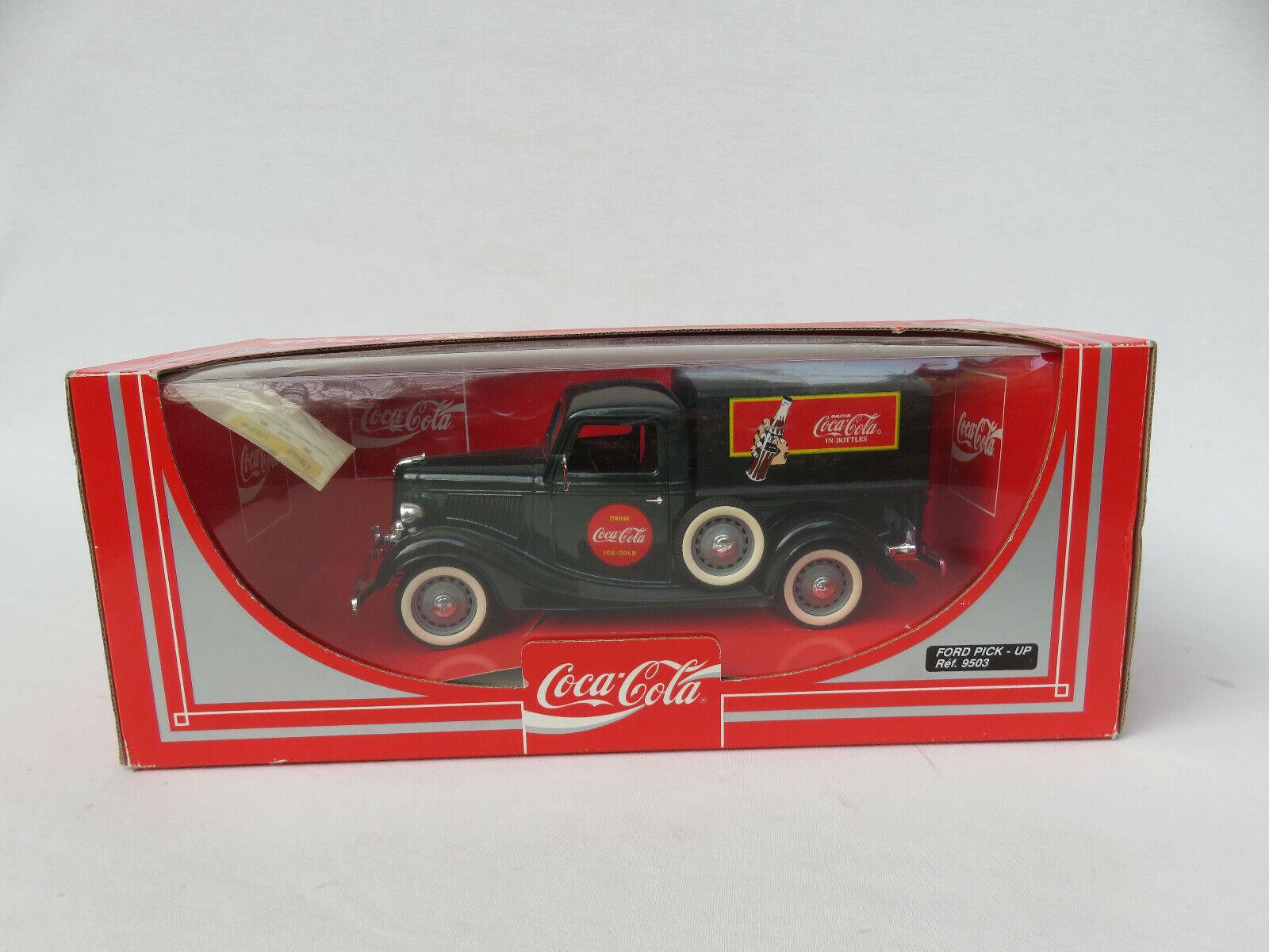 1 18 Ford Pick-Up, Coca-Cola, dunkelgrün schwarz