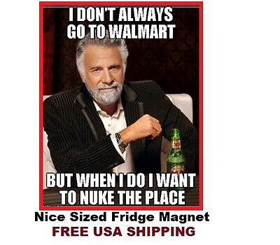 390 Most  Interesting Man Funny Saying Refrigerator Fridge Magnet