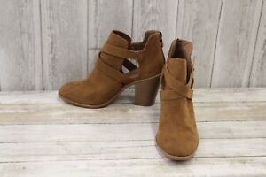 Rampage-Vedette-Ankle-Boots-Women-039-s-size-8-5-M-Camel