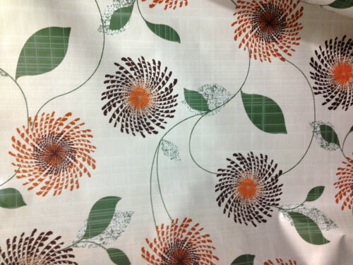 HI GRADE VINYL PVC OILCLOTH CRAFTS TABLE COVERING ETC WIPECLEAN FABRIC  *NEW*