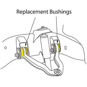 Suspension Control Arm Bushing-Alignment Camber Bushing Front Upper Moog K6670