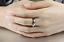 Anello-Coppia-Fedi-Fedine-Fidanzamento-Amicizia-Amore-Cuore-spezzato-Love-Regalo miniatura 4