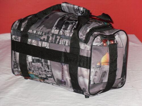 SUPER LEGGERO CABINA amichevole Lavoro Borsa Da Viaggio Bagaglio a Mano 35cm x 20cm x20cm.