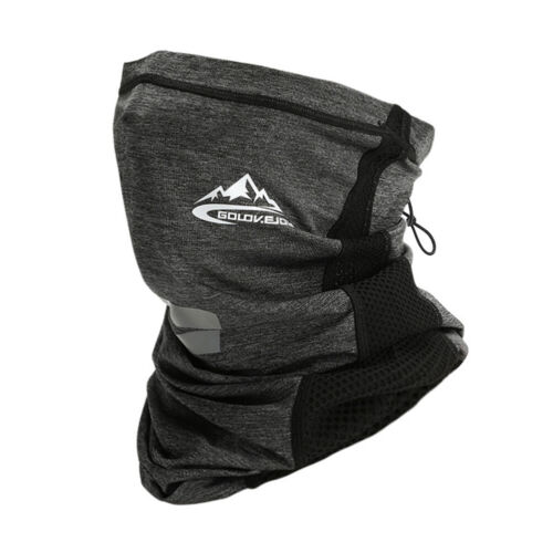 Summer Sunscreen Ice Silk Tube  Mask Neck Gaiter Headwear Sports Scarf Bandanas
