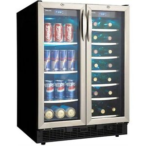 Stainless Steel French Door 60 Can Amp 27 Bottle Beverage