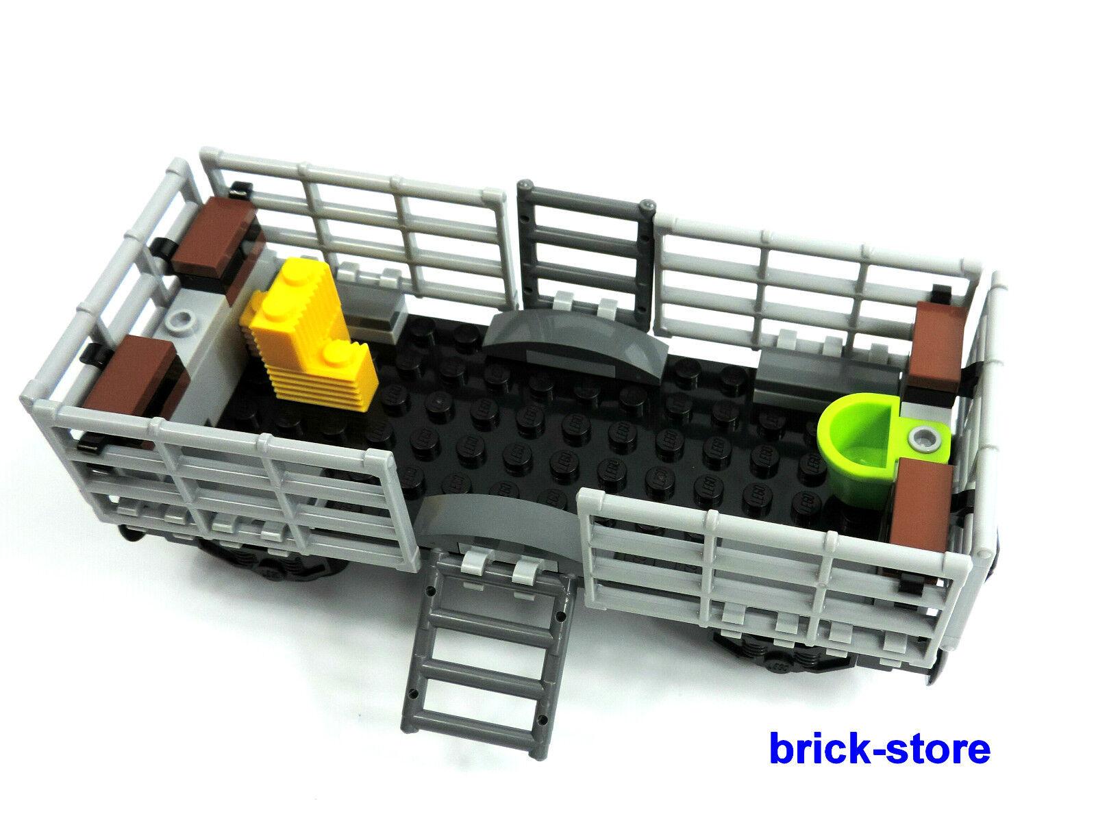 LEGO® City/ Eisenbahn (60052) Tier Waggon / Güterwaggon / ohne Kuh und Bauer