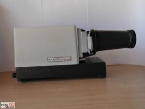 Leitz-Diaprojektor-6x6-Prado-Universal-24-250W-Objektiv-Elmaron-2-8-150mm-lens