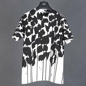 DIOR-x-RAYMOND-PETTIBON-1100-Cotton-Jersey-Tshirt-In-Black-amp-White-Print