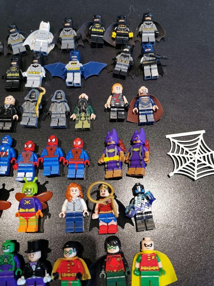 Lego Super heroes, Figurer