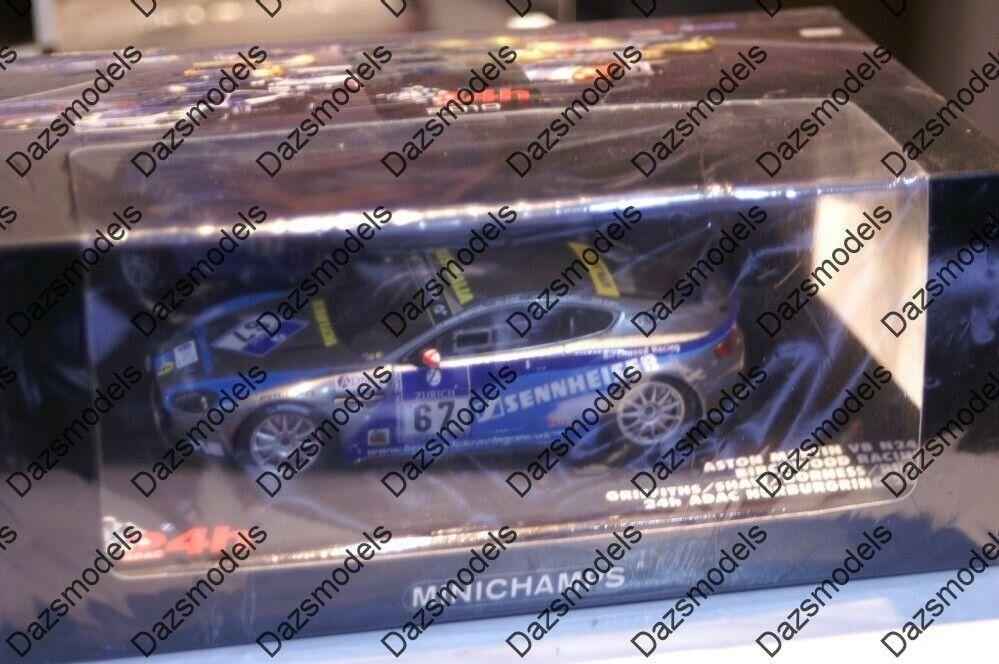 Minichamps aston martin V8 N24 24Hr nurburgring 2010 437 101367