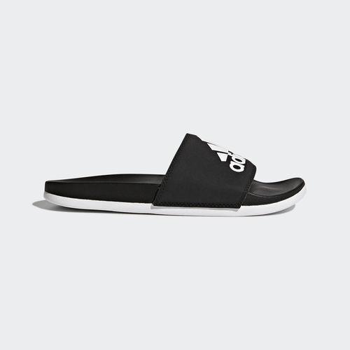 Adidas CG3427 Damen-Badeschuhe Adilette CF Logo Sandals black white