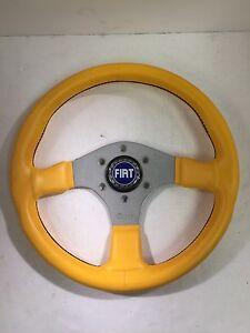 13-5-Inch-Steering-Wheel-Fiat-128-X19-124-500-600-850-Spider-Abarth-NEW-358