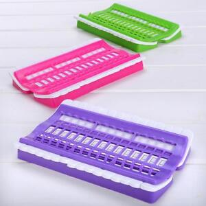30-Slot-Embroidery-Floss-Thread-Organizer-Cross-Stitch-Sewing-Needles-Holder-MA