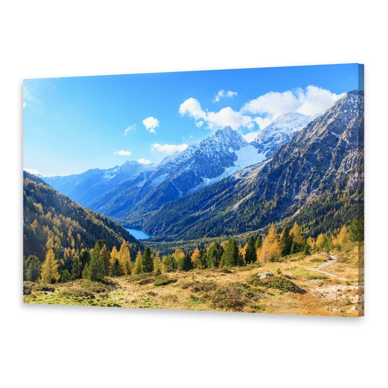 - Tela Tela Tela Immagini Immagine Parete stampa su canvas stampa d'arte Alpi Montagne 2418a6