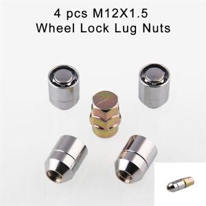 Silver-Upgrade-Car-Wheel-Alloy-Steel-Anti-Theft-Security-Lock-Lug-Nut-Kit-4-1