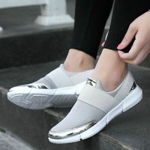 Women-039-s-Sneakers-Casual-Slip-on-Athletic-Sport-Running-Trainers-Shoes-Outdoor-5