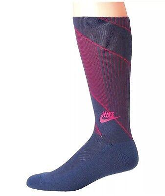 100% Vero 3 Paia Nike Abbigliamento Sportivo Texture Calzini Navy Rosa